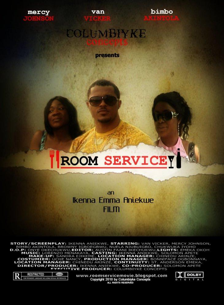 Room Service Nigerian movie - Van Vicker, Mercy Johnson, Bimbo Akintola, Nuella Njubuigbo